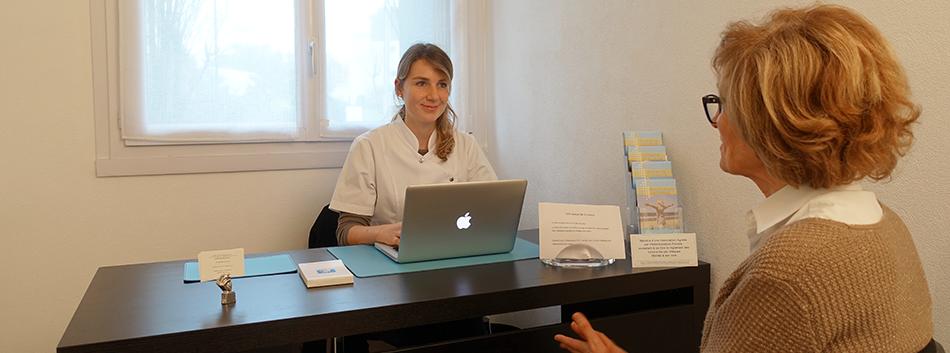 Le déroulement d'une consultation en ostéopathie