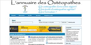 Annuaire des ostéopathes