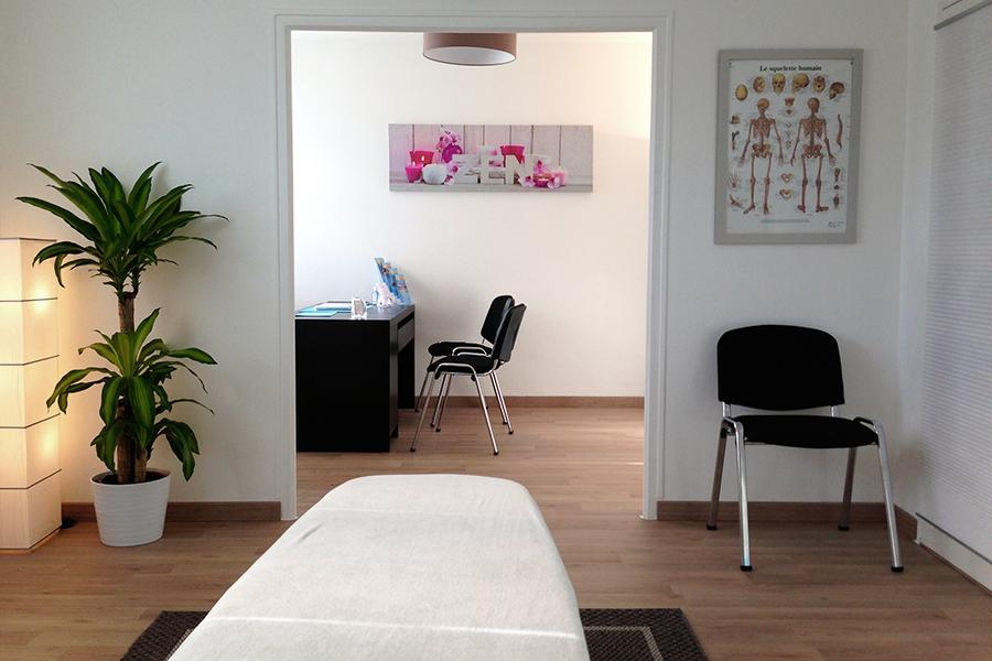 Photo du cabinet d'ostéopathie de Sophie Guerin